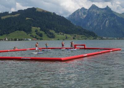 SUP Polo Plausch Turnier Kite Shop Sihlsee
